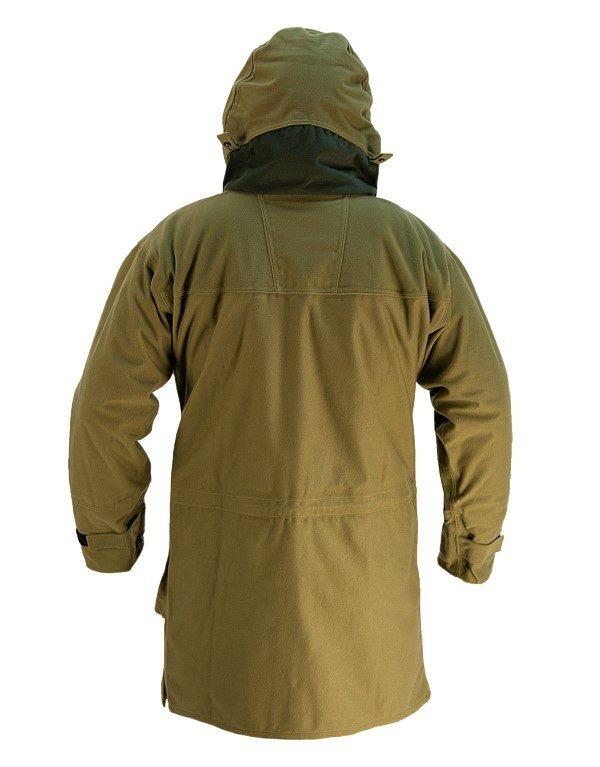 Wapiti coat - Back - Tussock Green