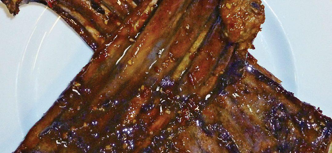 Venison BBQ ribs