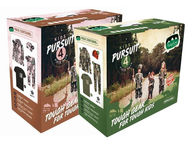 Ridgeline Kids Pursuit 4 Piece Hunting Clothing Pack