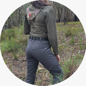 Womens hunting pants